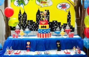superhelden dekoration decorations favors ideas