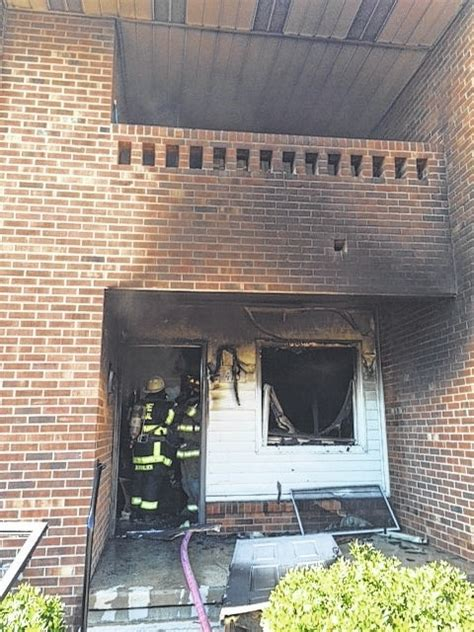 marshall housing authority mt airy news cause of public housing fire unknown