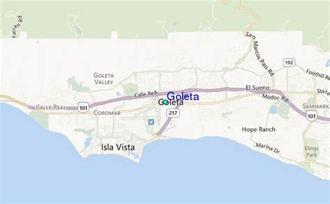goleta tide station location guide
