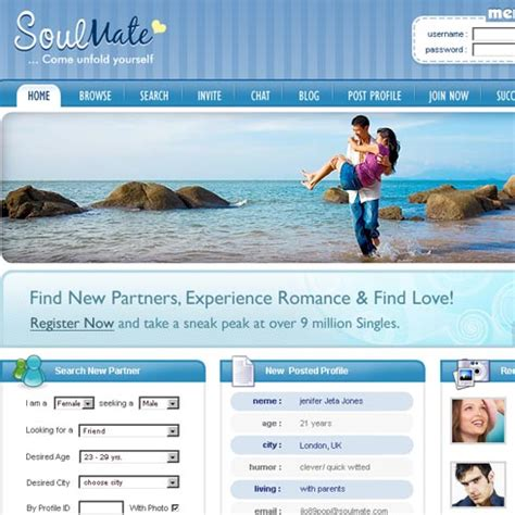 dating template dating web template 5 stylishtemplate