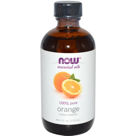 Orange Essential Oils Now Food now foods essential oils orange 4 fl oz 118 ml