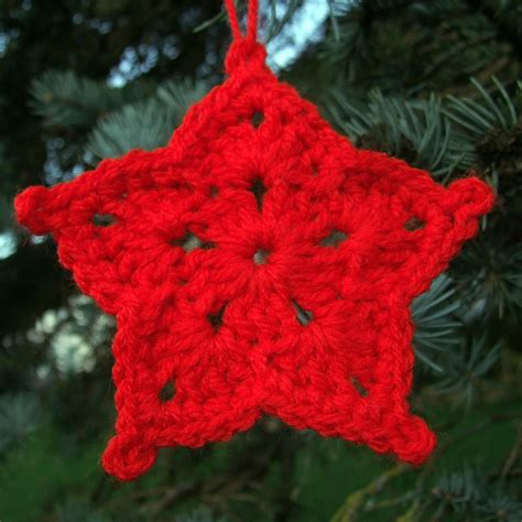 pattern for a christmas star crafting life in eire christmas decorations crochet