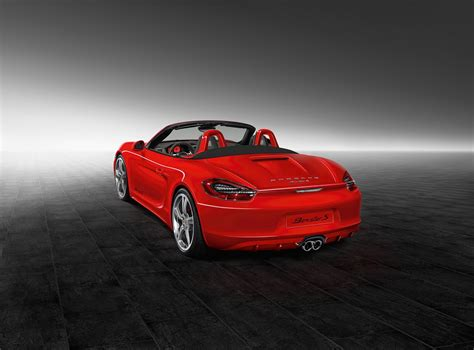 red porsche boxster porsche exclusive reveals guards red boxster s carscoops