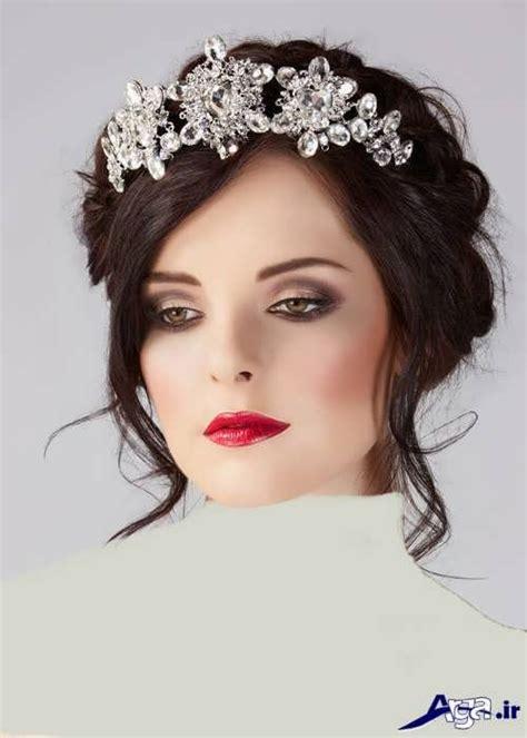 regal hairstyles مدل موی عروس با تاج و شینیون های جذاب و جدید