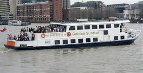 river thames boat party new years eve golden star ready for a party on the thames picture of