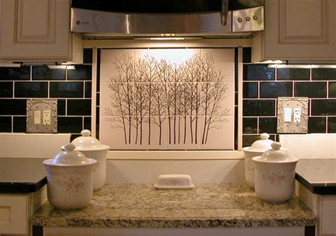 rustic kitchen backsplash tile kitchen back splash tile mural by designers choice tile