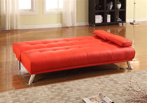 red sofa beds milan red sofa bed