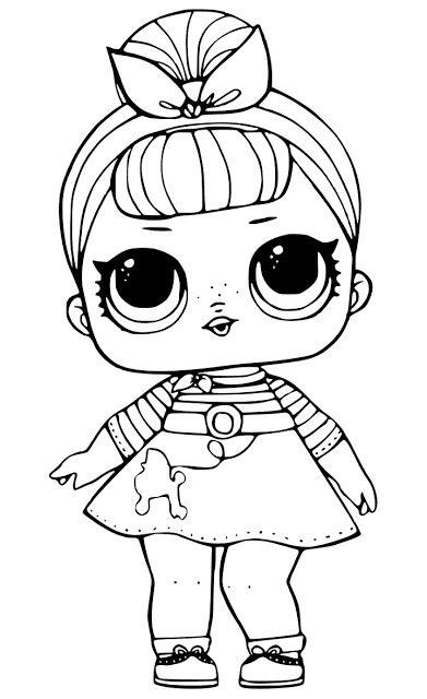 worry doll coloring page desenhos para colorir boneca lol ver e fazer