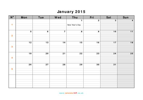 calendar template january 2015 january 2015 calendar free monthly calendar templates for uk