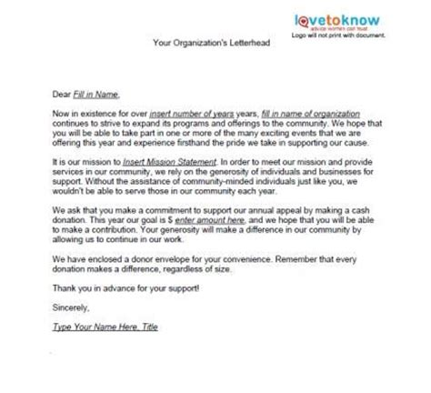charity donation appeal letter best 25 fundraising letter ideas on nonprofit