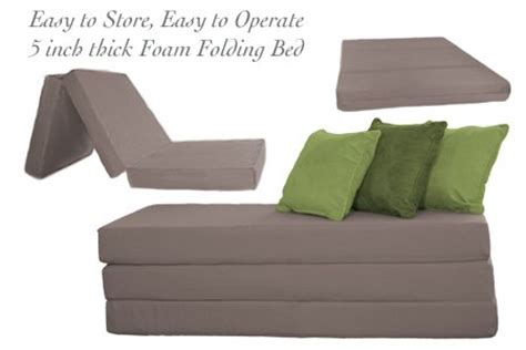 Folding Cushion Bed Affordable The Futon Shop 5 Inch Sleeper Chair Folding