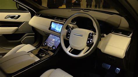 range rover velar inside range rover velar coupe suv arrives this summer starts at