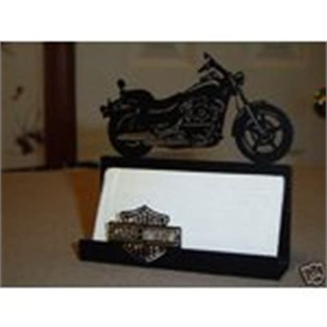 Harley Davidson Desk Accessories New Harley Davidson Desk Metal Business Card Holder 08 21 2008