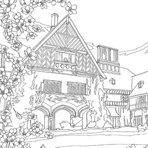 Color The Classics Anne Of Green Gables A Coloring Book Of Green Gables Coloring Pages