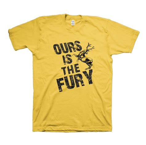 Hoodie Zipper Ours Is The Fury Baratheon 1 house baratheon quot ours is the fury quot t shirts wishining