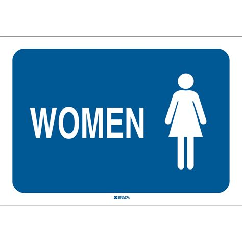 bathroom signages restroom sign personal hygiene and bathroom signs brady