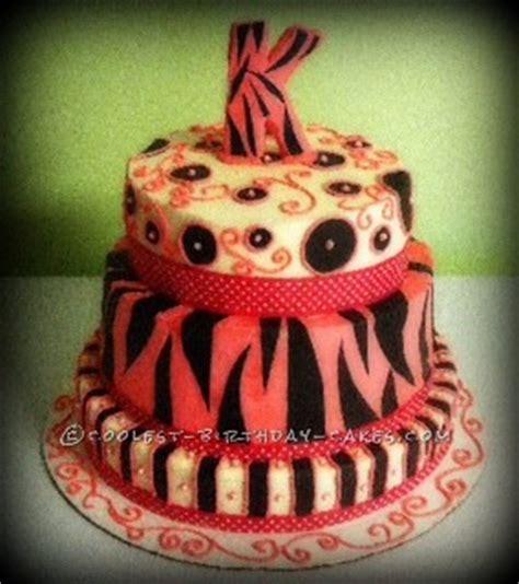 zebra pattern birthday cake coolest multi pattern zebra print birthday cake