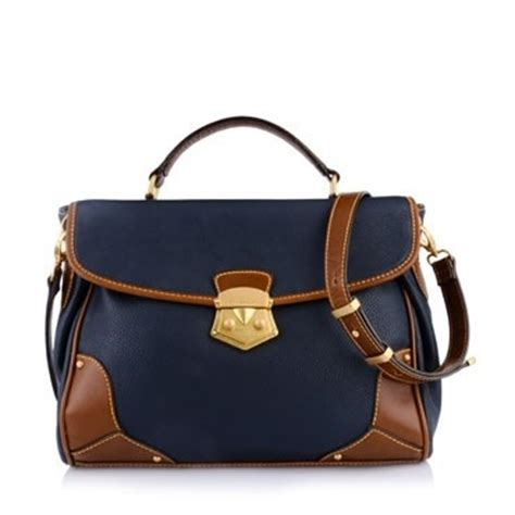 Charles Keith Azzura Brown 220880 4 this bag from charles and keith an inspired satchel with contrasting brown