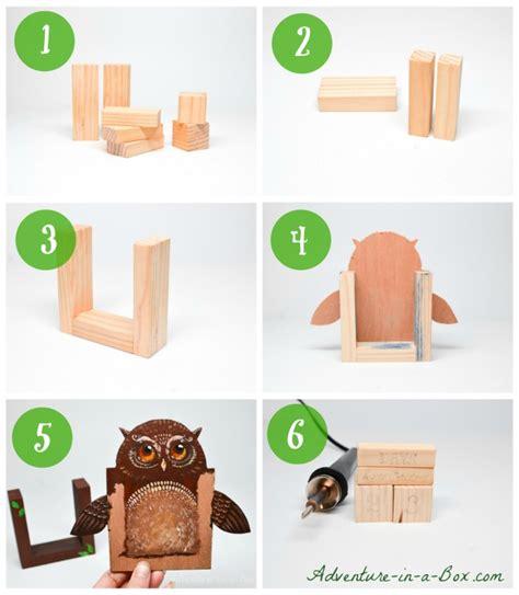 how to make a countdown calendar make a countdown calendar with wooden blocks