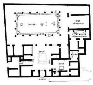 Plan Of A Pompeian House House Of The Vettii Pompeii 2nd C Bc Domestic Space Pompeii House And