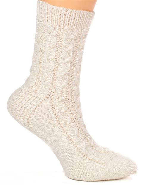 pattern cable socks pattern only braided cable socks sock cable and etsy
