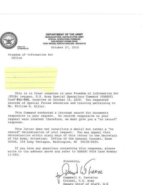 letter of appointment jpas exle stevenwarran professional soldiers bill hillar thread