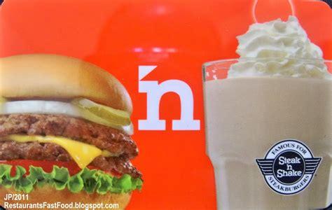 Who Sells Steak And Shake Gift Cards - steak n shake diet protein shake 90 day challenge