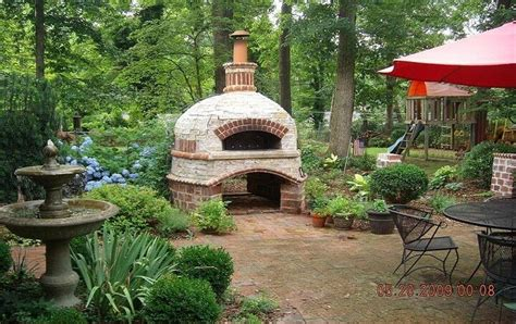 how to build a backyard brick oven outdoor brick ovens insteading