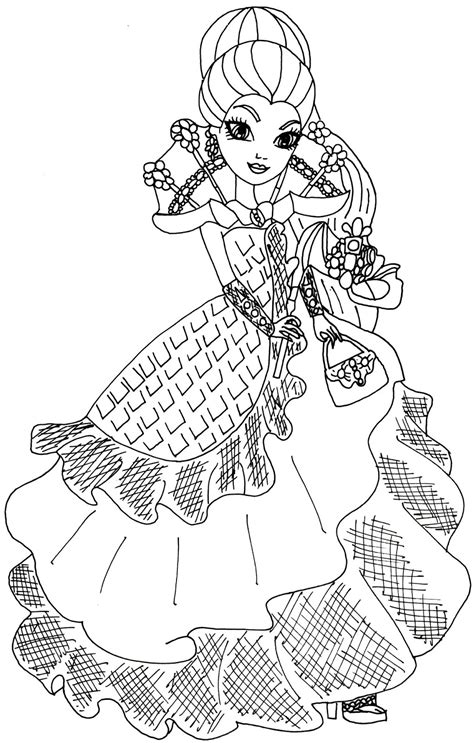 coloring pages ever after high raven queen free printable ever after high coloring pages raven queen