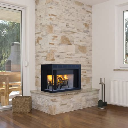 superior wct40cr l wood burning corner fireplace