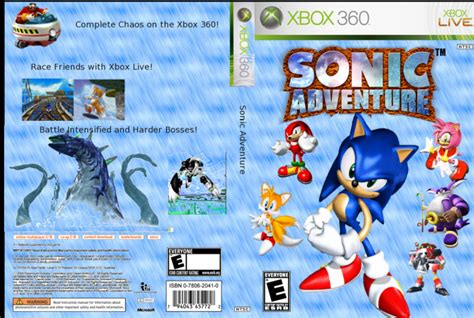 Home Design Games For Xbox 360 Sonic Adventure Xbox 360 Box Art Cover By Nickster6490