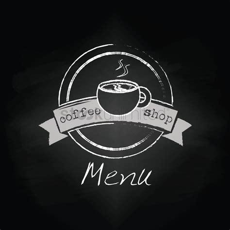 coffee shop graphic design coffee shop menu design vector image 1798401