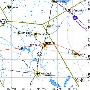 mexia map mexia tx population data races housing economy