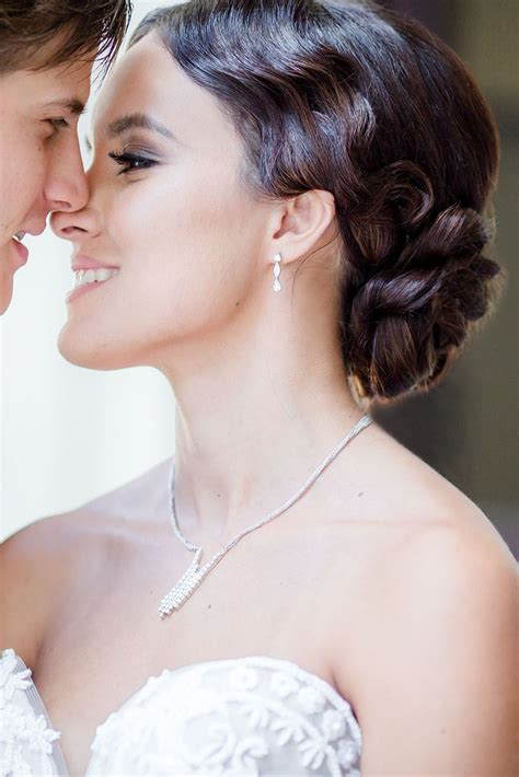 Wedding Hair Mostly by The Powder Room Exquisite Hair And Makeup Hair And