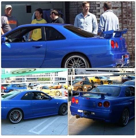 nissan skyline 2002 paul walker paul walker brian o conner nissan skyline gt r r34 the