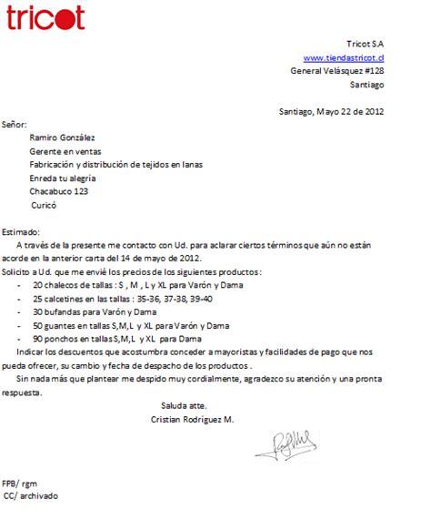 carta de cotizacion redactar carta comercial tattoo design bild