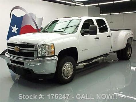 sell used 2012 chevy silverado 3500 4x4 diesel crew dually lb 19k texas direct auto in stafford