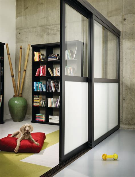 bookshelf partition superb sliding room dividers in family room traditional