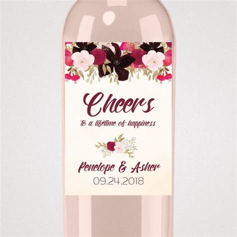 Wine Label Template Pdf