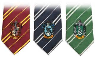 hogwarts colors harry potter house ties thinkgeek