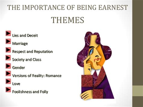 Themes The Importance Of Being Earnest | the importance of being earnest