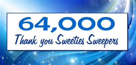 Sweeties Sweepstakes - sweeties sweeps 64 000 facebook giveaway