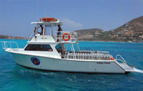dive boat scuba dive st maarten with scuba