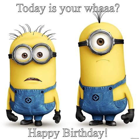 Minions Birthday Meme - minions happy birtgday quickmeme