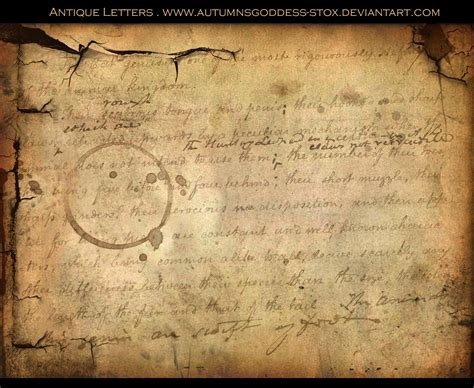 Antique Letters antique letters by autumnsgoddess stox on deviantart