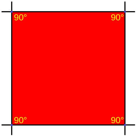 five square imagery square shape clipart best