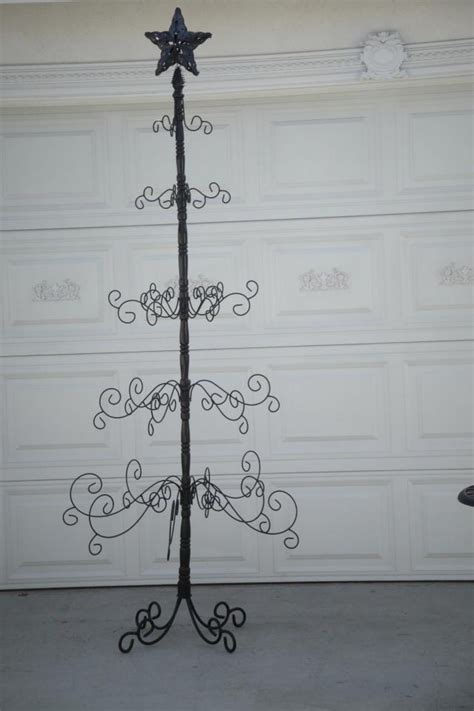 1000 images about wrought iron christmas tree on