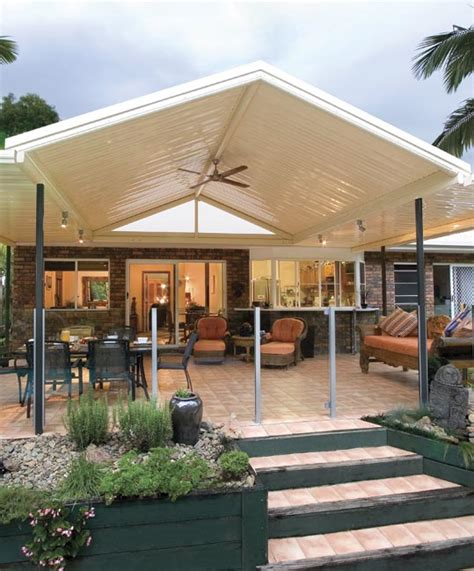 Gable Patio Designs Http Stratco Au Products Verandahs Patios Carports Types Outback Gable Gable Asp Outdoor