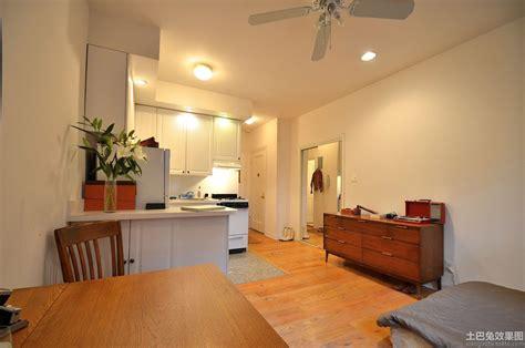 Decorating Ideas For Small One Bedroom Apartments 小户型室内装修设计实景图 土巴兔装修效果图