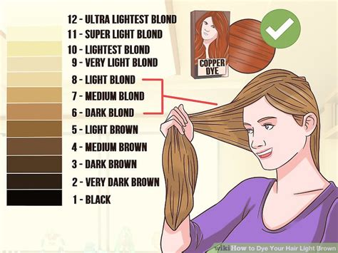 how to dye brown hair light brown 3 ways to dye your hair light brown wikihow
